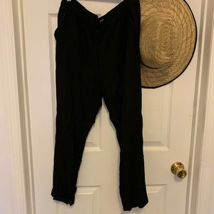 Black Madewell track trousers